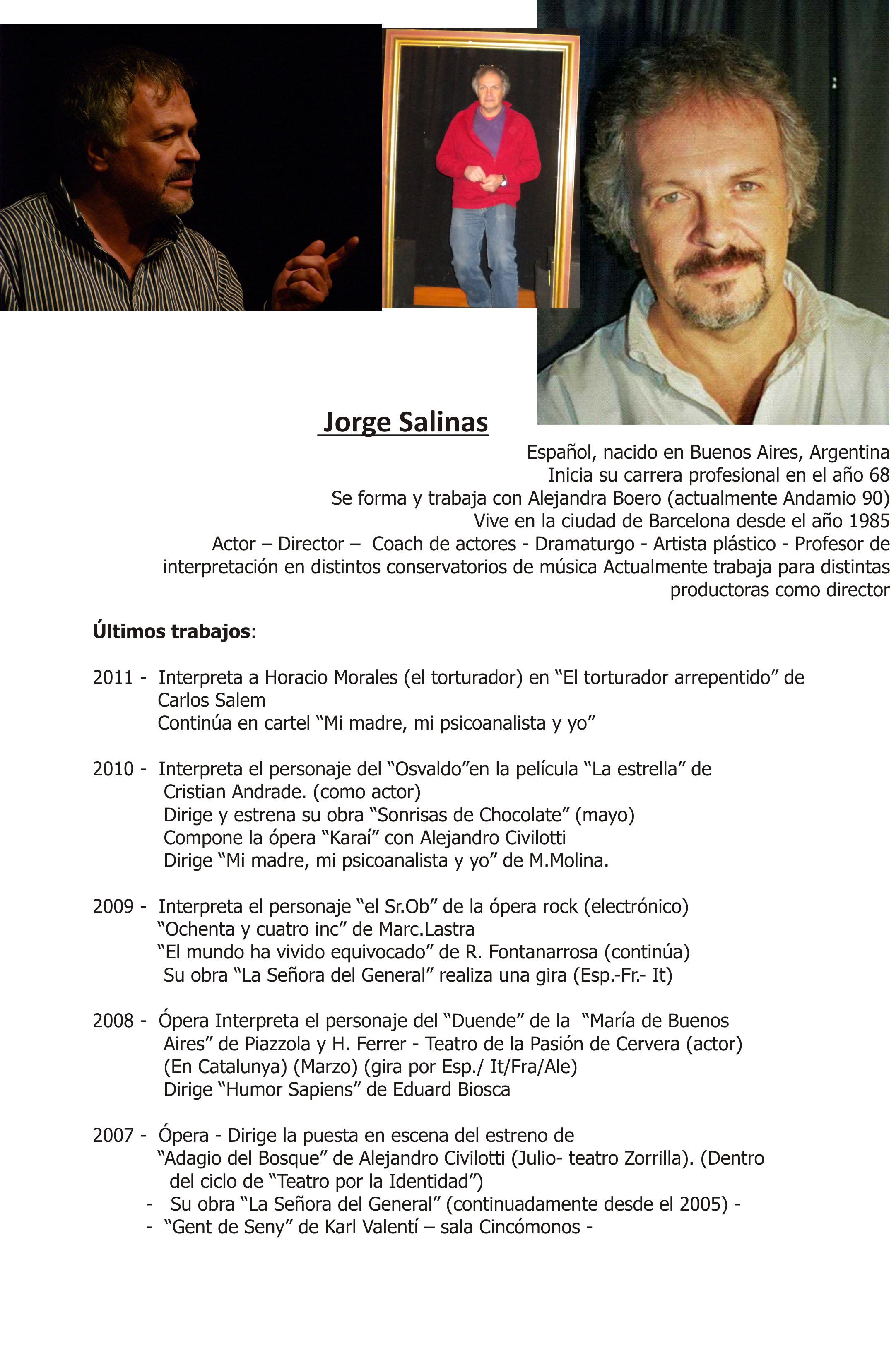 Único Plantillas De Curriculum De Actor Bandera - Ejemplo De ...